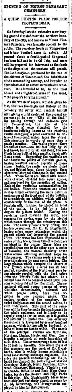 Globe, November 6, 1876, page 4, column 4.